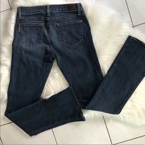 PAIGE | Canyon Baby Boot Jeans Stanley Wash EUC 28